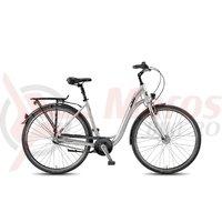 Bicicleta KTM City Fun 28.3 DA argintiu mat