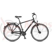 Bicicleta KTM Life Time 8 LL HE negru/silver/gri 2017
