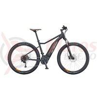 Bicicleta KTM Macina Ride 271 - S38 cm negru matt (grey+orange)