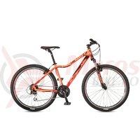 Bicicleta KTM Penny Lane 27.24 Classic coral/negru/berry 2017