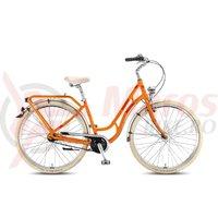 Bicicleta KTM Tourella 28.3 portocaliu/rosu