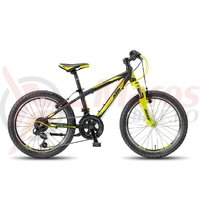 Bicicleta KTM Wild Cross 20.12 negru/galben