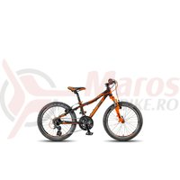 Bicicleta KTM Wild Speed 20.21 negru/orange 2018