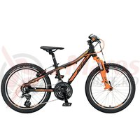 Bicicleta KTM Wild Speed 20.21 negru/orange 2019