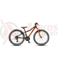 Bicicleta KTM Wild Speed 24.24 negru/orange 2018