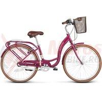 Bicicleta Le Grand Lille 3 26' pink glossy