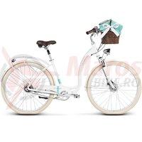 Bicicleta Le Grand Lille 7 28' white glossy 2019