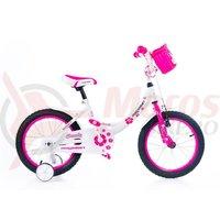 Bicicleta Magellan Candy 16' white/pink