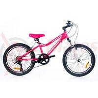 Bicicleta Magellan Emily 20 roz/alb