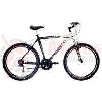 Bicicleta Marsstar Upland - 26' Negru-Alb/Gri
