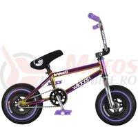 Bicicleta mini BMX Wildcat Royal Original 2A fara frana -mov/neocrom/argintiu