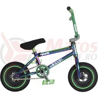 Bicicleta mini BMX Wildcat Royal Original 2C verde/negru
