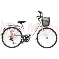 Bicicleta Moon California 26' alba