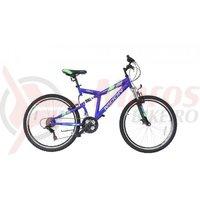 Bicicleta Moon Nomad 26' albastra