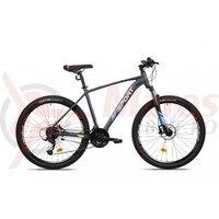 Bicicleta Mtb Afisport M3 - 27.5 inch, Gri