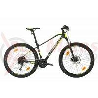 Bicicleta MTB Sprint Apolon 27.5 2021 Negru Mat/Verde