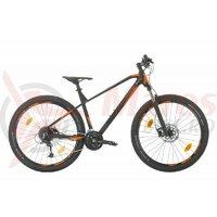 Bicicleta MTB Sprint Apolon 29 2021 Negru Mat/Orange Neon