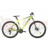 Bicicleta MTB Sprint Maverick 29 2021 verde neon mat