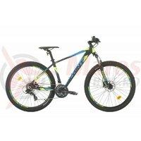 Bicicleta MTB Sprint Maverick Pro 27.5 NegruMat/Verde 2021