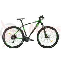 Bicicleta MTB Sprint Maverick Pro 29 2021 Negru Mat/Verde