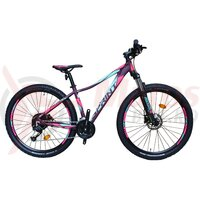 Bicicleta MTB Sprint Maverick Pro Lady 27.5 2021 Violet Mat/Roz Neon