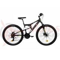 Bicicleta Mtb Terana 2743 FS - 27 Inch Gri