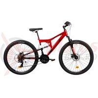 Bicicleta Mtb Terana 2743 FS - 27 Inch, Rosu