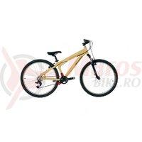 Bicicleta Neuzer Airborne Jump 26' Crem/Negru