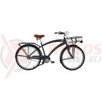 Bicicleta Neuzer Cruiser Hawaii N3 - 26'' Anthracit/Portocaliu