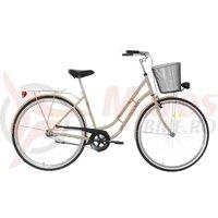 Bicicleta Neuzer dama Classic 1 viteza - 28' Crem/Maro