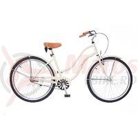 Bicicleta Neuzer dama Cruiser Beach 1v - 26'' Crem/Portocaliu