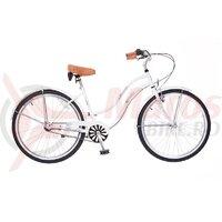 Bicicleta Neuzer dama Cruiser California N3 - 26'' Alb