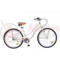 Bicicleta Neuzer dama Cruiser California N3 - 26'' Crem/Portocaliu