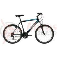 Bicicleta Neuzer Mistral 18 - 26' Negru/Alb/Albastru