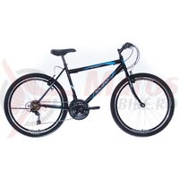 Bicicleta Neuzer Nelson Revo 26' Negru/Alb-Albastru