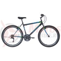 Bicicleta Neuzer Nelson Revo 26' Negru/Albastru-Verde