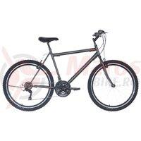 Bicicleta Neuzer Nelson TY37 21v -  26' Antrachit/Gri-Rosu