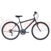 Bicicleta Neuzer Nelson TY37 21v -  26' Negru/Gri-Rosu