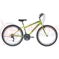 Bicicleta Neuzer Nelson TY37 21v -  26' Verde Neon/Negru-Gri