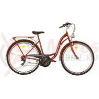 Bicicleta Neuzer Ravenna 30 - 28' Rosu Rubin/Alb