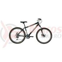 Bicicleta Neuzer Tempest Disc - 26' Negru/Gri-Rosu