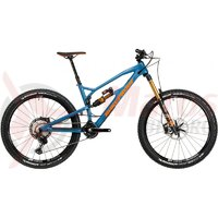 Bicicleta Nukeproof Mega 27.5 Factory Carbon bottle blue 2020