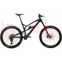 Bicicleta Nukeproof Mega 27.5 RS Carbon blue red 2019