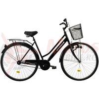 Bicicleta Oras DHS Citadinne 2812 - 28 Inch, Negru