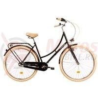 Bicicleta oras DHS Citadinne 2836 neagra