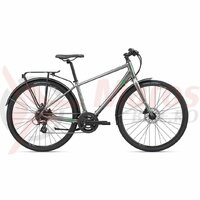 Bicicleta Oras Liv Giant Alight 2 DD City Disc 2020 Dark Silver
