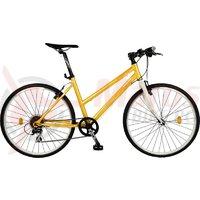 Bicicleta DHS Origin 2896 galbena 2015