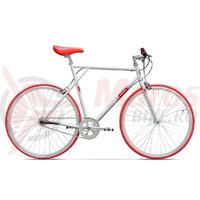Bicicleta Pegas Clasic B 3v alb perlat