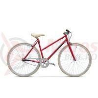 Bicicleta Pegas Clasic F 3 viteze rosu mat