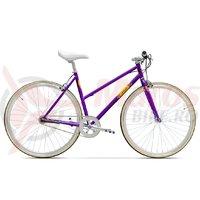 Bicicleta Pegas Clasic F 3 viteze violet mat
